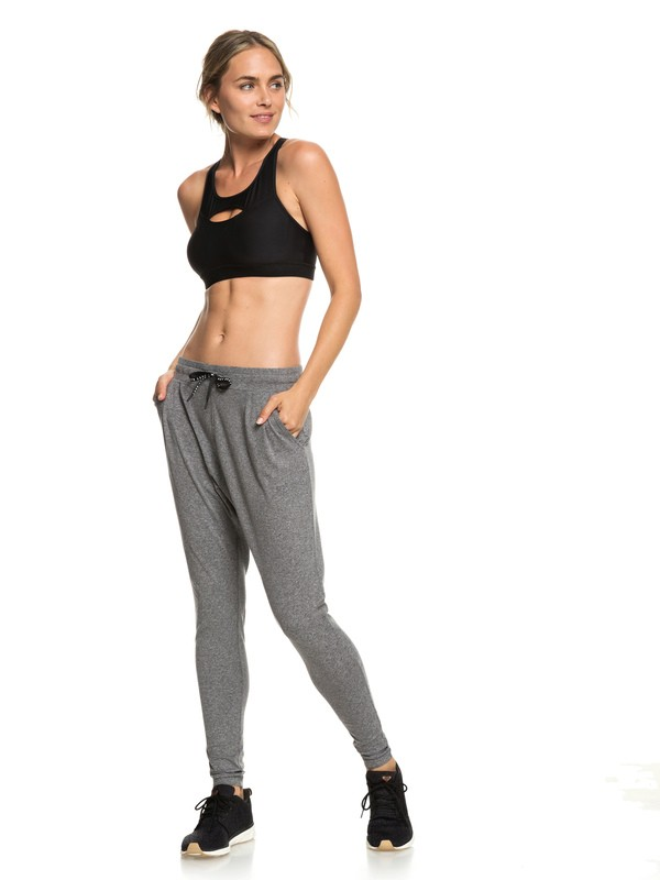 0 Jungle Roots - Bas de yoga pour Femme Noir ERJNP03217 Roxy
