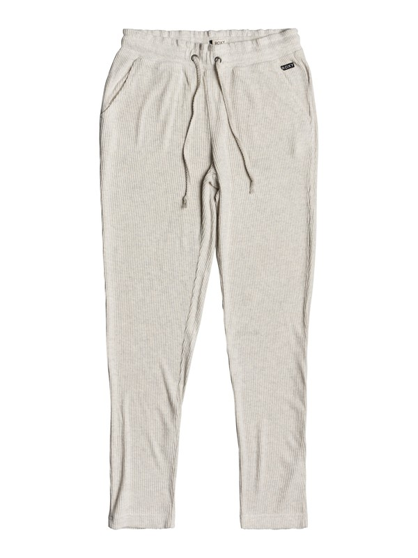 0 Pantalones tipo Joggers súper suaves Beach Dance Beige ERJNP03229 Roxy