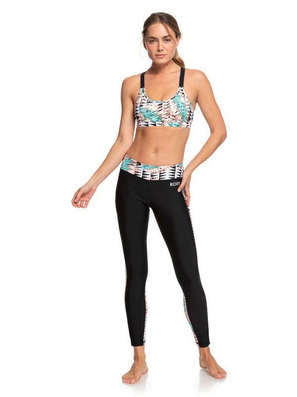 0 Spy Game - Legging de sport 7/8 pour Femme Blanc ERJNP03257 Roxy