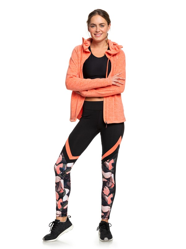 0 Lead By The Slopes - Legging technique pour Femme Rose ERJNP03260 Roxy