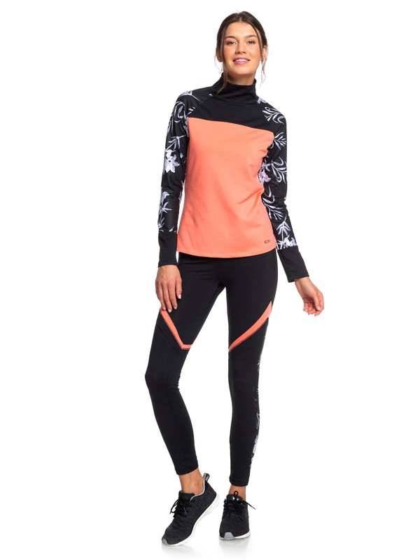0 Lead By The Slopes - Legging technique pour Femme Multicouleurs ERJNP03260 Roxy