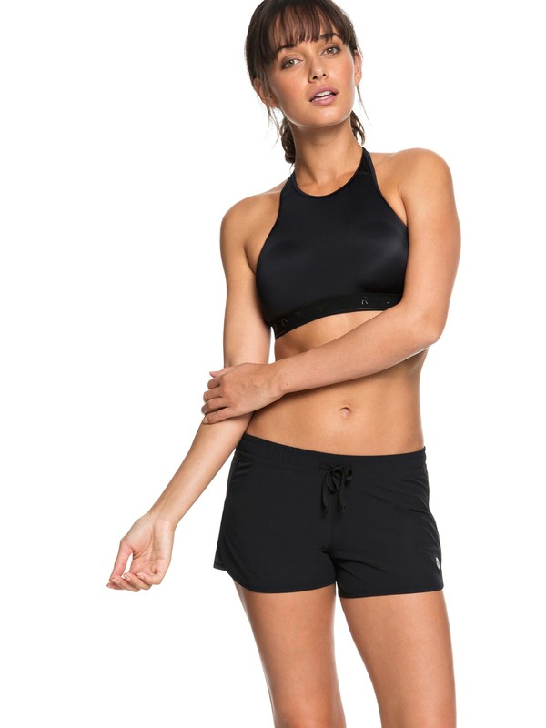 0 Shorts para Correr All In Time Negro ERJNS03172 Roxy