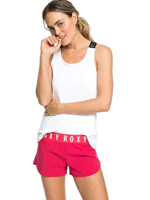 """0 Sunny Tracks 3"""" - Short de sport pour Femme Rose ERJNS03191 Roxy"""