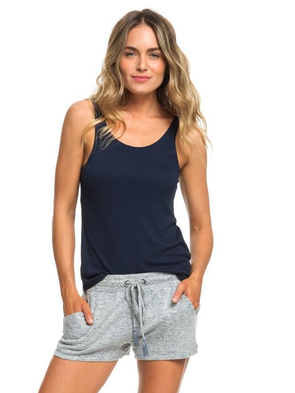 0 Forbidden Summer Sweat Shorts Blue ERJNS03196 Roxy