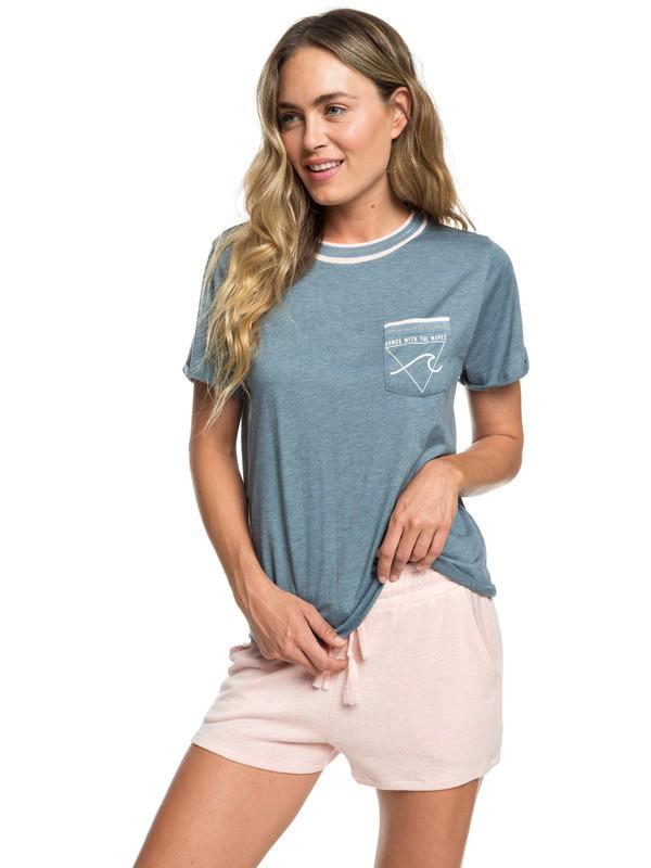 0 Forbidden Summer Sweat Shorts Pink ERJNS03196 Roxy