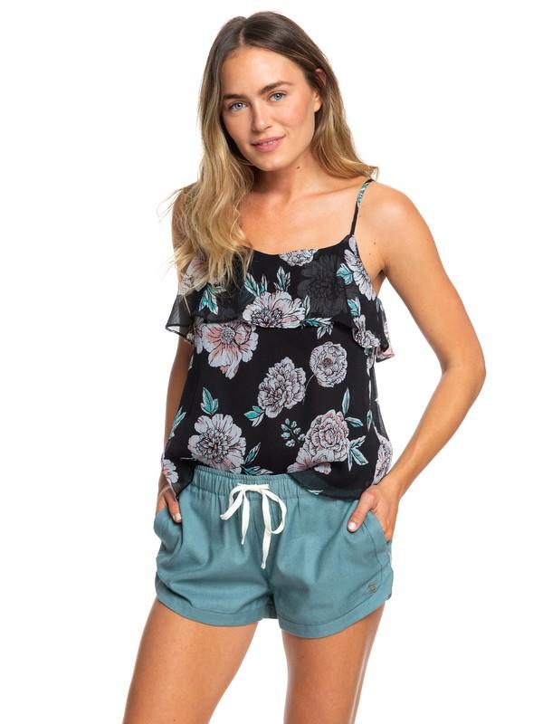 0 Shorts de Playa New Impossible Love Azul ERJNS03216 Roxy