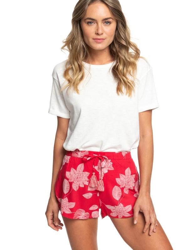 0 Rum Cay Viscose Shorts Pink ERJNS03217 Roxy