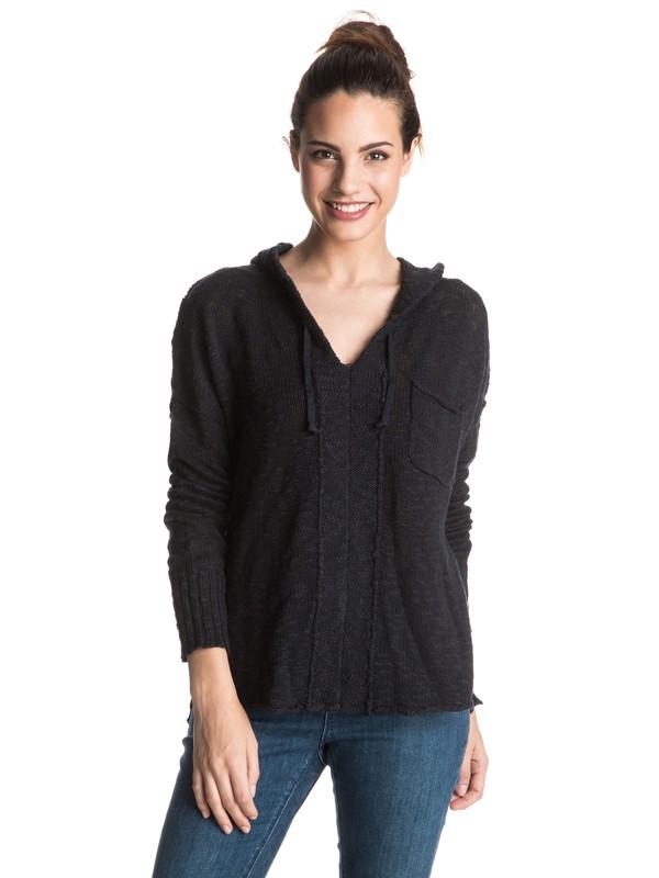 0 Airwaves Hooded Sweater  ERJSW03145 Roxy