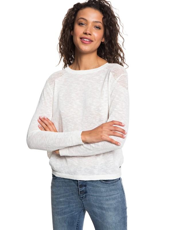 Jersey con Cuello Redondo Mujer Marca find