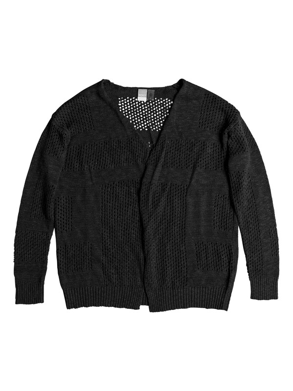 0 Summer Bliss Cardigan Black ERJSW03260 Roxy