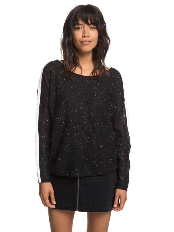 0 One Day Down Sweater Black ERJSW03272 Roxy