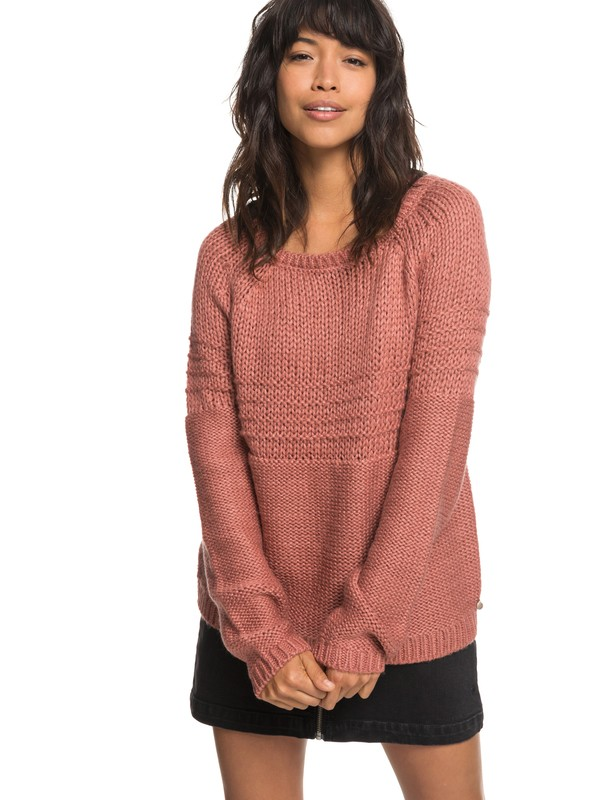 0 Urban Stories - Pullover für Frauen Rosa ERJSW03274 Roxy