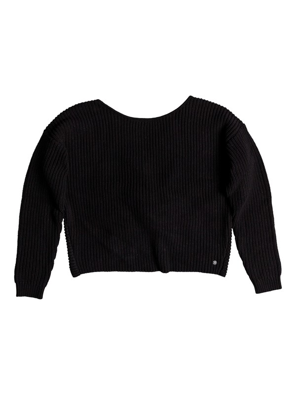 0 Bamboo Bridge Sweater Black ERJSW03303 Roxy