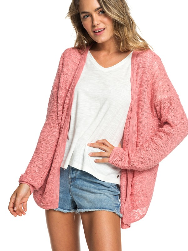 0 Liberty Discover - Gilet pour Femme Rose ERJSW03310 Roxy