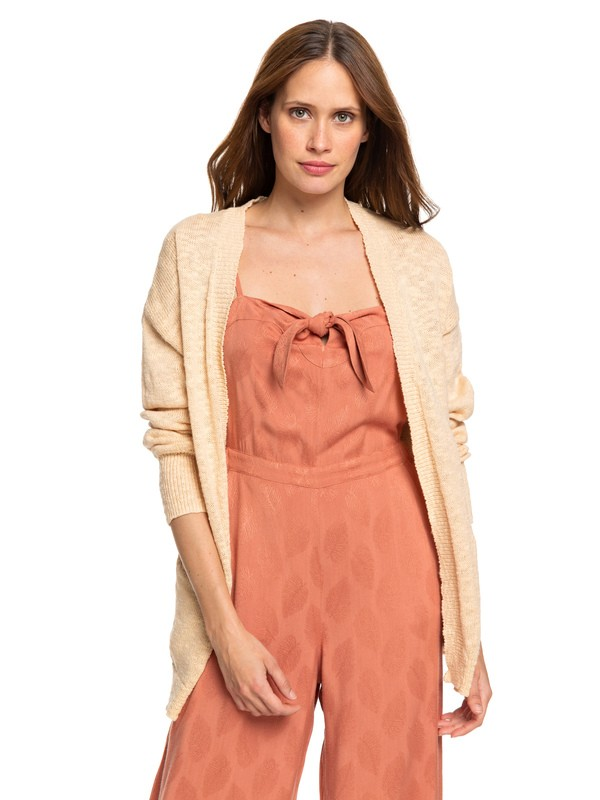 0 Valley Shades Cardigan Beige ERJSW03330 Roxy