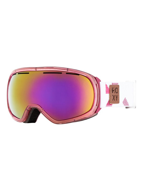 0 Rockferry - Masque de ski/snowboard pour Femme Rose ERJTG03055 Roxy