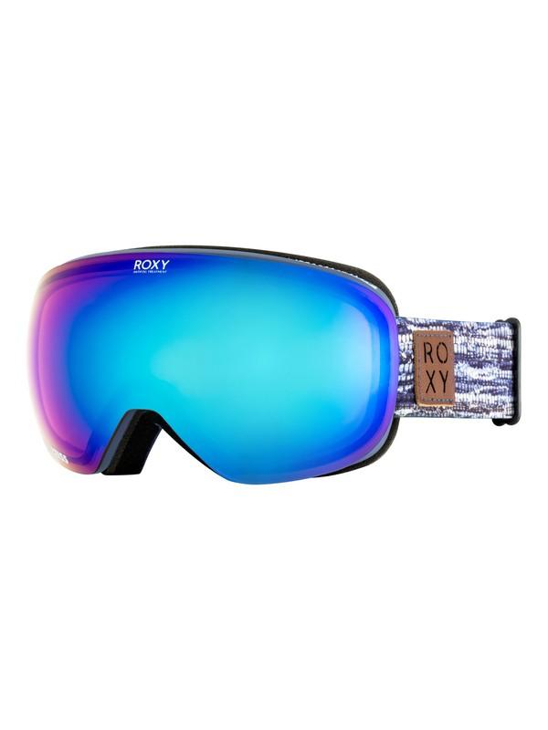0 Popscreen - Masque de ski/snowboard pour Femme Bleu ERJTG03058 Roxy