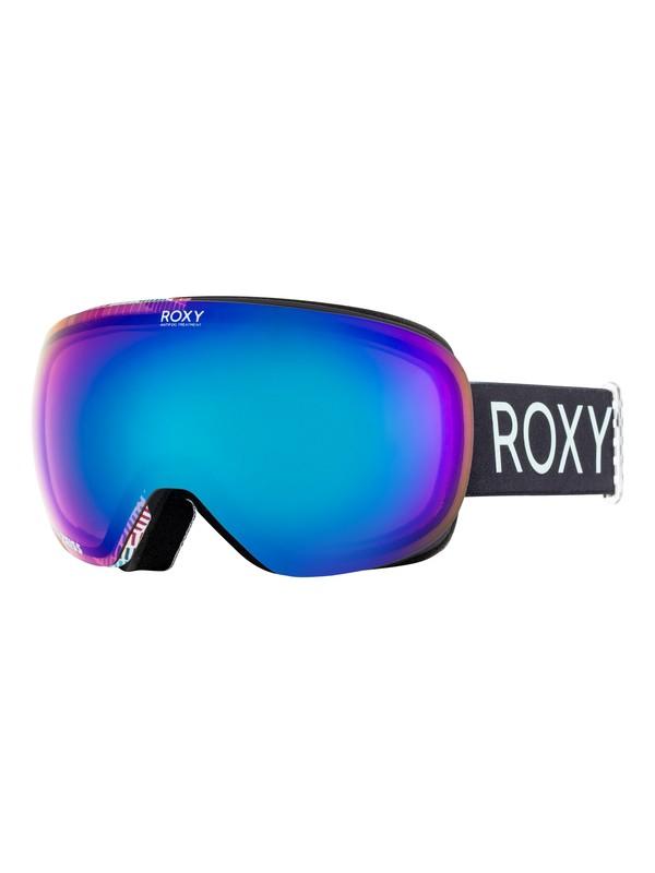0 Popscreen - Masque de ski/snowboard pour Femme Noir ERJTG03058 Roxy