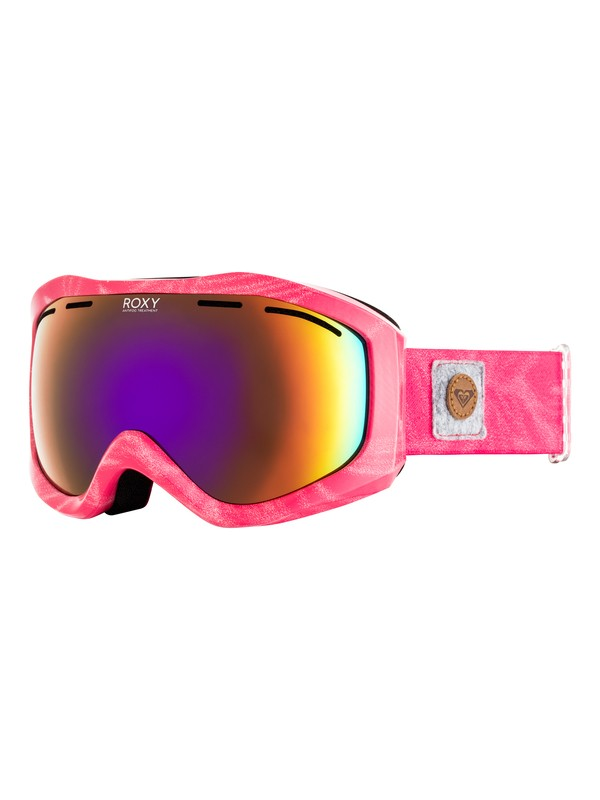 0 Sunset Art Series - Masque de ski/snowboard pour Femme Rose ERJTG03065 Roxy