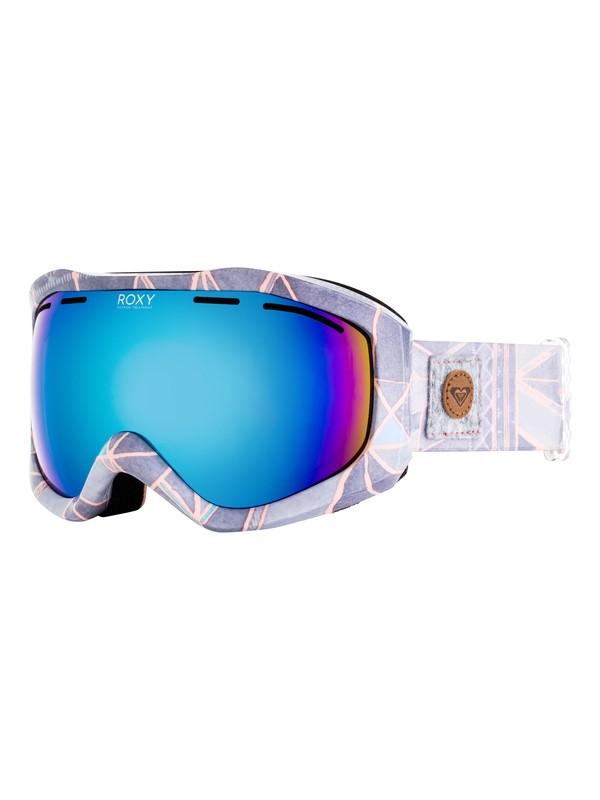 0 Sunset Art Series - Masque de ski/snowboard pour Femme Gris ERJTG03065 Roxy