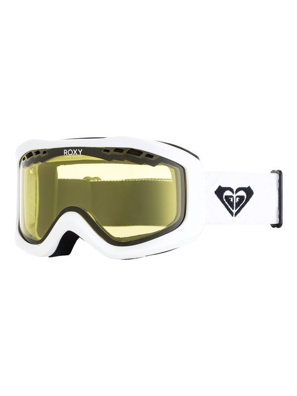 0 Sunset Bad Weather - Masque de ski/snowboard pour Femme Blanc ERJTG03066 Roxy