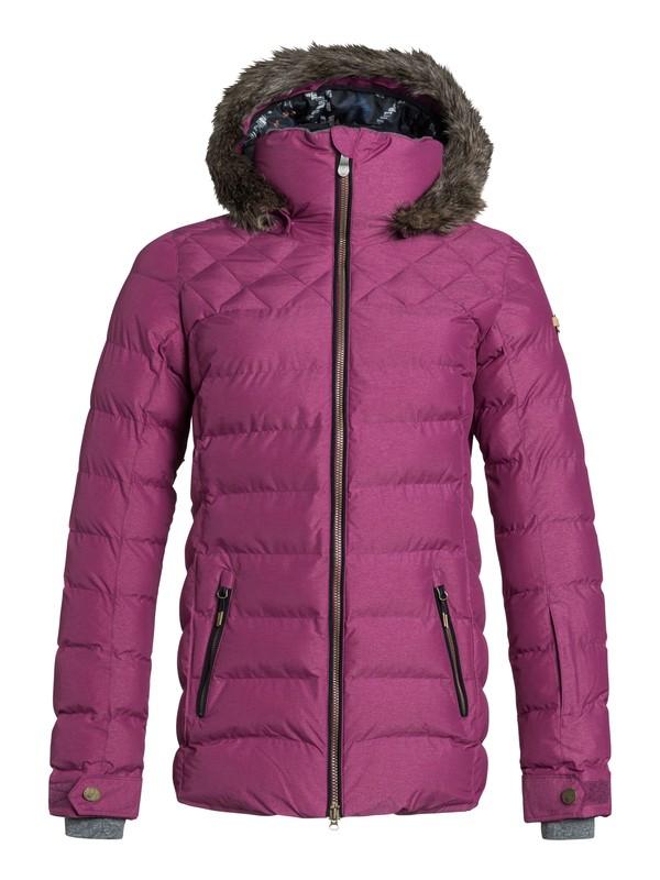 0 Quinn Snow Jacket Pink ERJTJ03022 Roxy