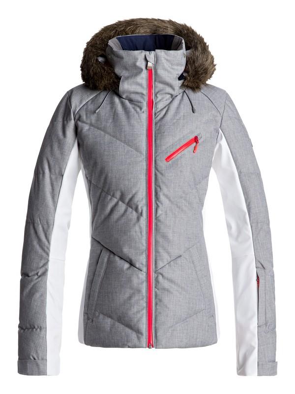 0 Сноубордическая куртка Snowstorm Серый ERJTJ03105 Roxy