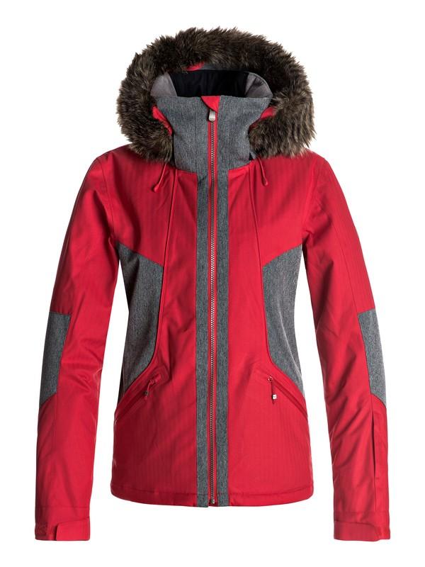0 Atmosphere - Veste de snow pour Femme Rouge ERJTJ03108 Roxy