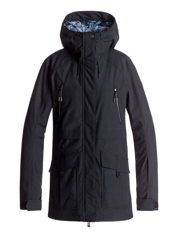 0 Tribe Snow Jacket Black ERJTJ03120 Roxy
