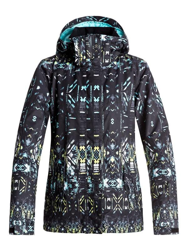 0 Сноубордическая куртка ROXY Jetty Черный ERJTJ03125 Roxy