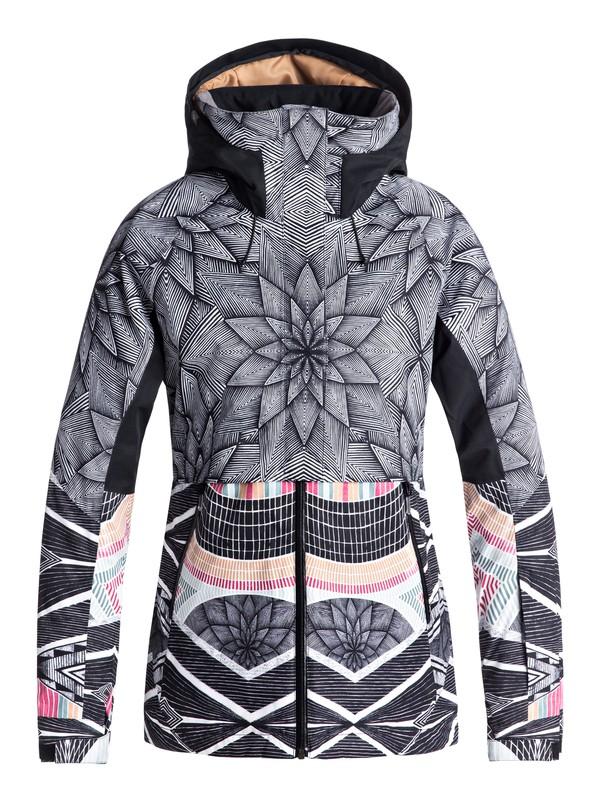 0 Сноубордическая куртка Frozen Flow Черный ERJTJ03155 Roxy