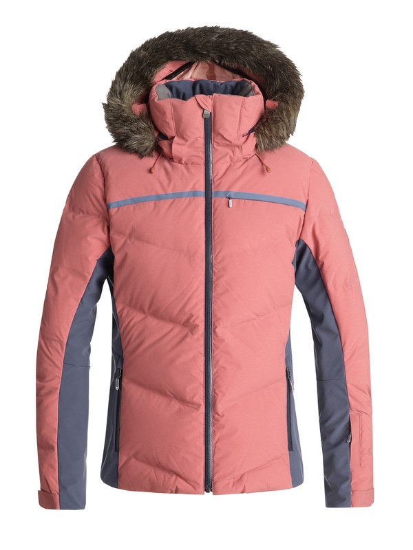 0 Сноубордическая куртка Snowstorm Розовый ERJTJ03156 Roxy