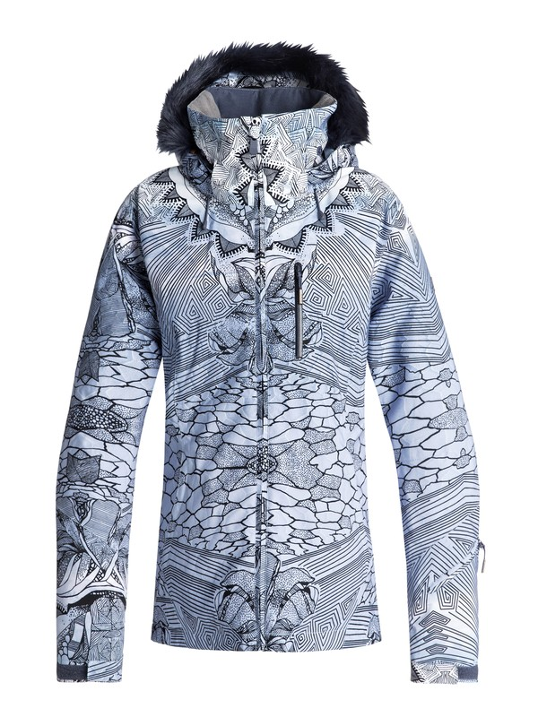 0 Jet Ski Premium - Veste de snow pour Femme Bleu ERJTJ03159 Roxy