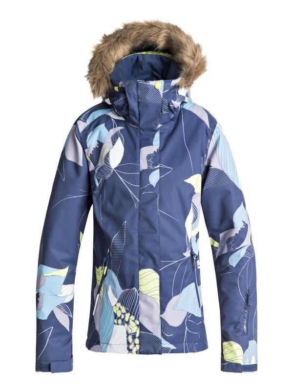 0 Сноубордическая куртка Jet Ski Синий ERJTJ03162 Roxy