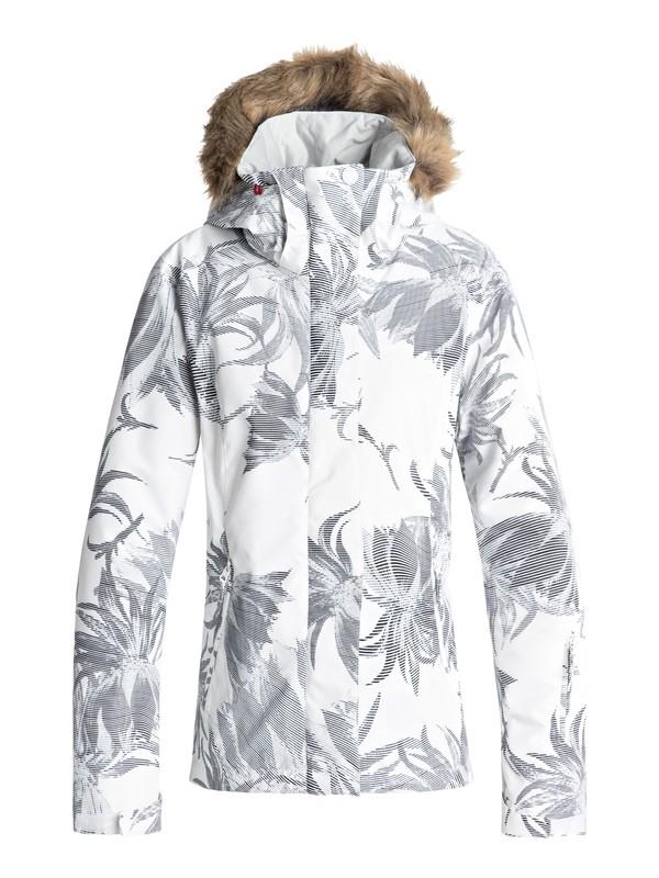 0 Jet Ski - Snow Jacket for Women White ERJTJ03162 Roxy