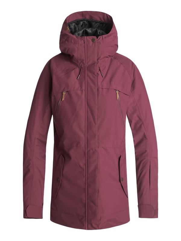0 Сноубордическая куртка Tribe Красный ERJTJ03166 Roxy