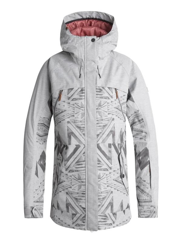 0 Tribe Snow Jacket Grey ERJTJ03166 Roxy