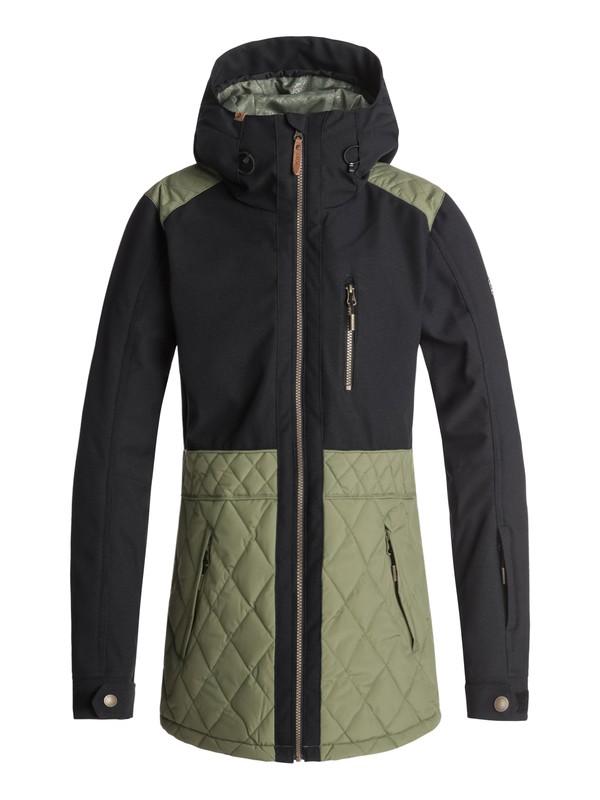 0 Journey Snow Jacket Green ERJTJ03167 Roxy