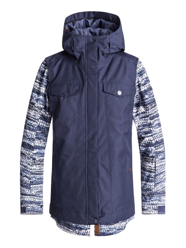 0 Ceder Snow Jacket Blue ERJTJ03169 Roxy