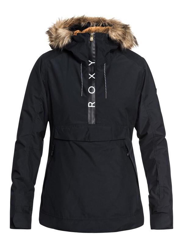 0 Shelter - Veste de snow pour Femme Noir ERJTJ03170 Roxy