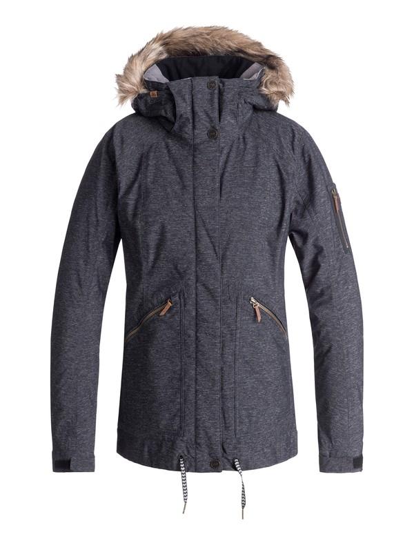 0 Meade Snow Jacket Black ERJTJ03172 Roxy