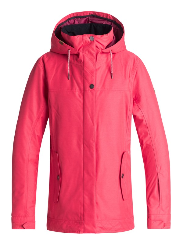 0 Billie - Snow Jacket for Women Pink ERJTJ03174 Roxy