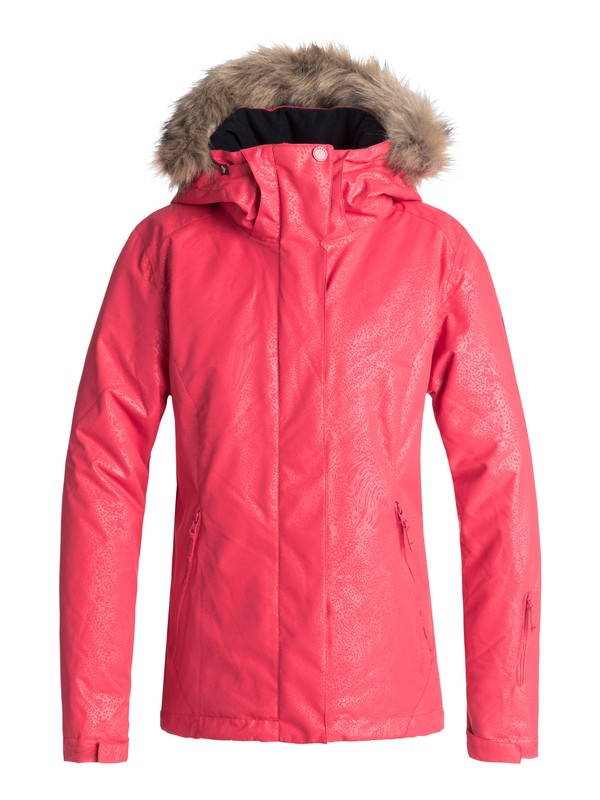0 Jet Ski - Snow Jacket for Women Pink ERJTJ03181 Roxy
