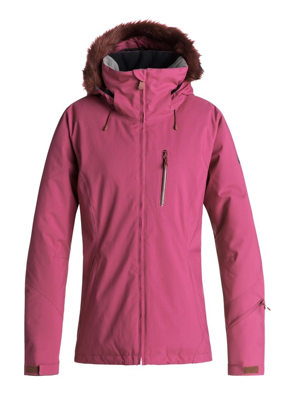 0 Down The Line - Snow Jacket for Women Red ERJTJ03185 Roxy