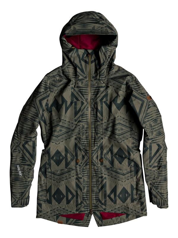 0 Glade 2L GORE-TEX® Snow Jacket Green ERJTJ03192 Roxy