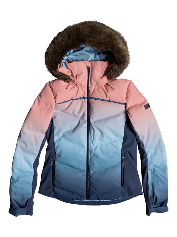 0 Snowstorm Snow Jacket Blue ERJTJ03193 Roxy