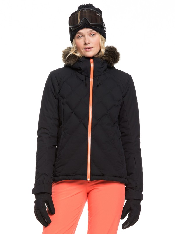 0 Breeze - Veste de snow pour Femme Noir ERJTJ03211 Roxy