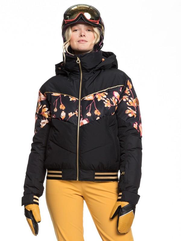 0 Torah Bright Summit Snow Jacket Black ERJTJ03216 Roxy