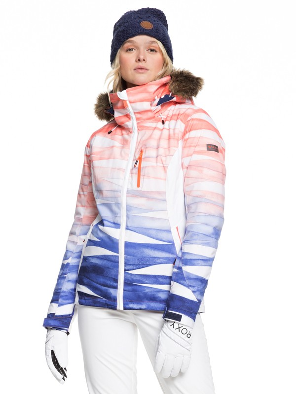 0 Jet Ski Snow Jacket Blue ERJTJ03218 Roxy
