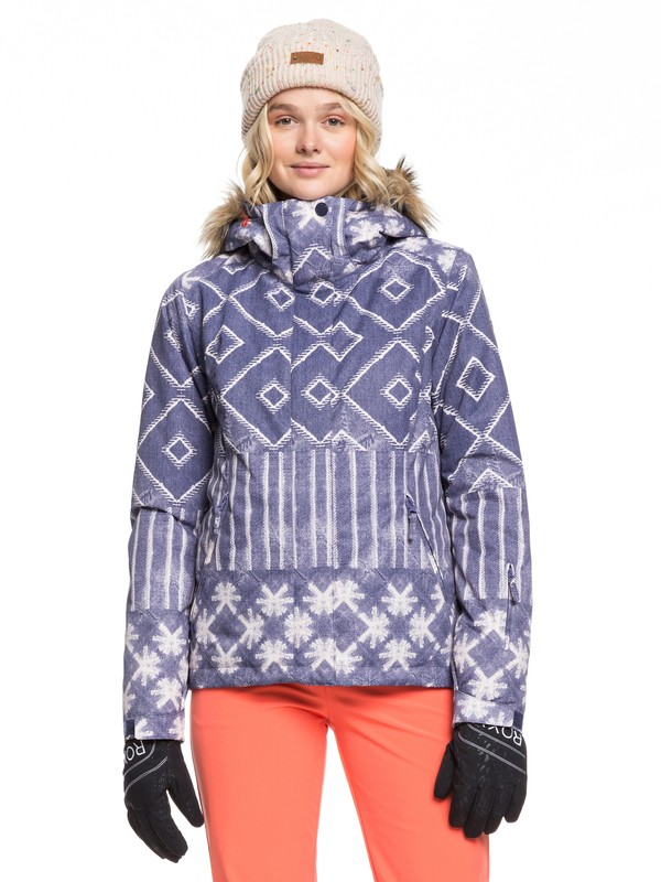 0 Jet Ski Snow Jacket Blue ERJTJ03222 Roxy
